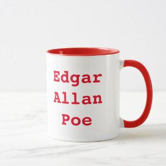 Caneca de café impressionante de Edgar Allan Poe
