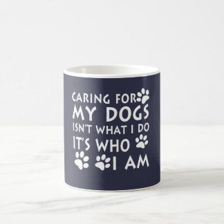 Caneca De Café Inquietação com meus cães