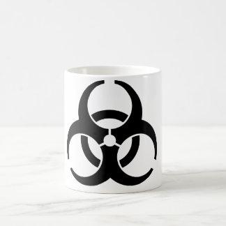 Caneca De Café Insígnias universais do Biohazard