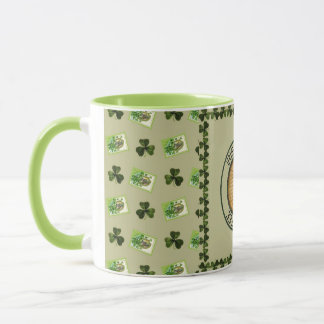 Caneca de café irlandês