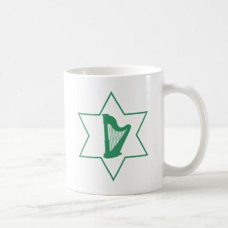 Caneca De Café Irlandês & judaico