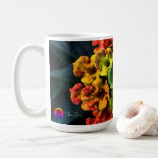 Caneca De Café ~ Jamaica do Lantana do *ʀᴀɪɴʙᴏᴡ | de FʟᴏᴡPᴏᴡ
