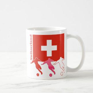 Caneca De Café Jogadores de futebol - suiça