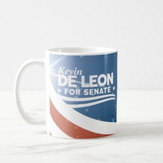 Caneca De Café Kevin de Leon para o Senado