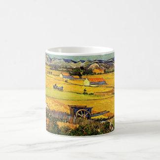 Caneca De Café La Crau da colheita de Van Gogh, Montmajour, belas