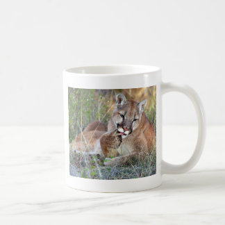 Caneca De Café Leão de montanha - Hmmm