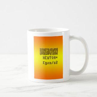 Caneca De Café Lei de newton fresca de movimento