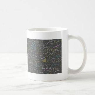 Caneca De Café Lições da matemática