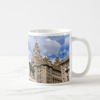 Caneca De Café Liverpool - construção do fígado