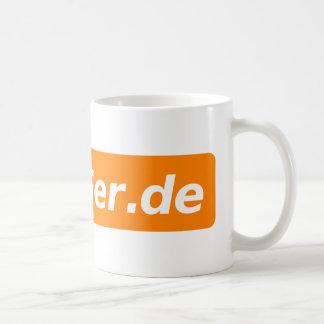 Caneca De Café Logotipo de Tasse MetaGer.de
