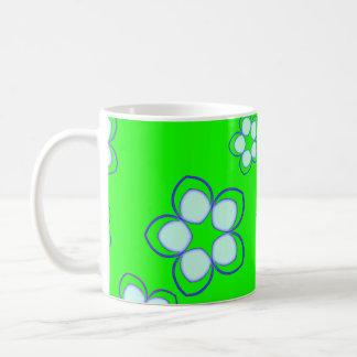 Caneca De Café Lotus de sonho verde-maçã