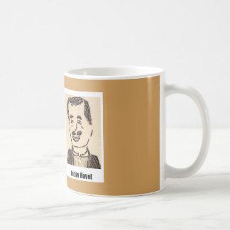 Caneca De Café Lou Reed/caneca de Vaclav Havel