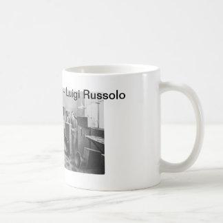 Caneca De Café Luigi Russolo - a arte do ruído