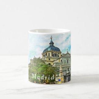 Caneca De Café Madrid. Catedral de Almudena