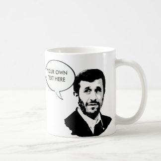 Caneca De Café Mahmoud Ahmadinejad