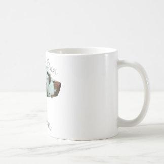 Caneca De Café Mamã Dalmatian 2 (do fígado)
