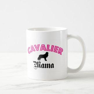 Caneca De Café Mama descuidado do Spaniel