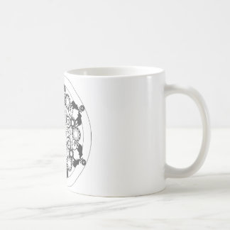 Caneca De Café Mandala do elefante