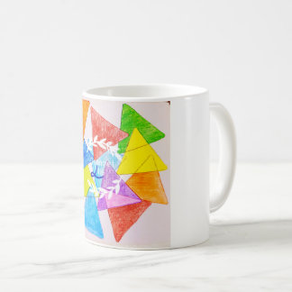 Caneca De Café Manhãs coloridas