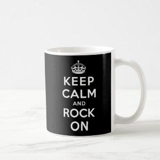 Caneca De Café Mantenha a calma e balance-a sobre