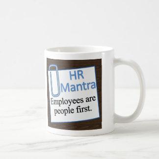Caneca De Café Mantra dos recursos humanos