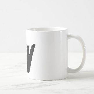 Caneca De Café Mão de Jayden (preto)