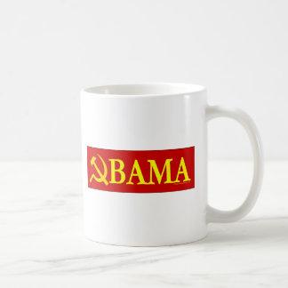 Caneca De Café Martelo e foice Obama