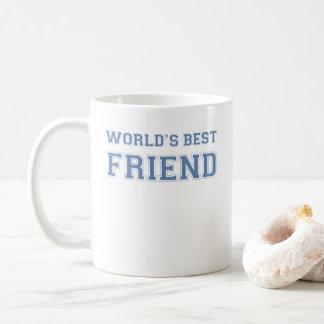 Caneca De Café Melhor amigo dos mundos