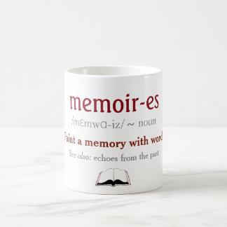 Caneca De Café Memórias, memórias - ecos do passado