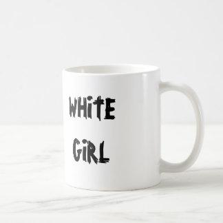 Caneca De Café Menina branca