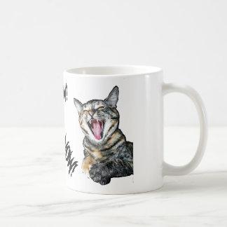 Caneca De Café Meow! Café agora!