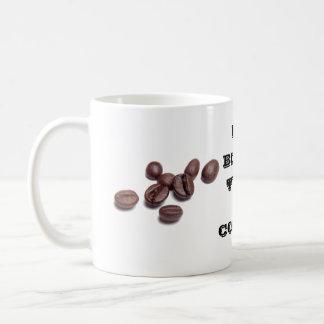 Caneca De Café Meu tipo de sangue é café