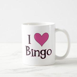 Caneca De Café Mim Bingo do coração