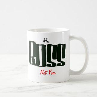 Caneca De Café Mim chefe não você