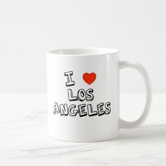 Caneca De Café Mim coração Los Angeles