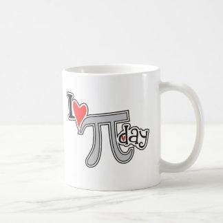 Caneca De Café Mim dia do Pi do coração
