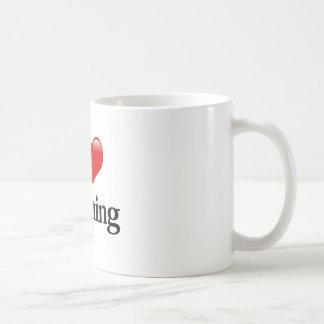 Caneca De Café Mim ensino do coração