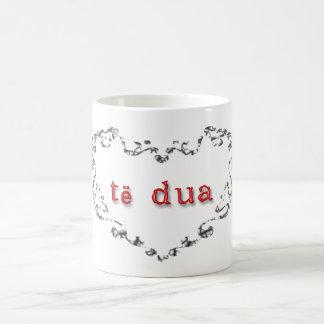 CANECA DE CAFÉ MIM      L O V E      Y O U
