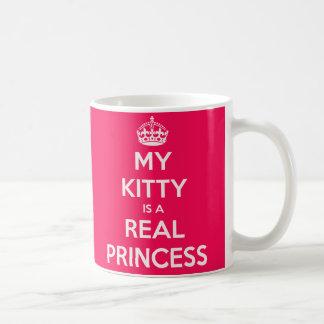 Caneca De Café Minha princesa do gatinho