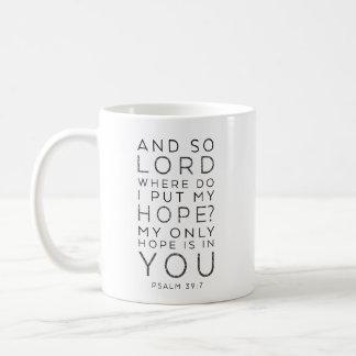 Caneca De Café Minha somente esperança