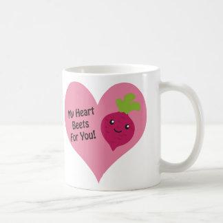 Caneca De Café Minhas beterrabas do coração para você