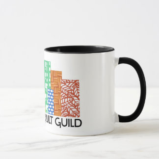 Caneca de café moderna da guilda da edredão de