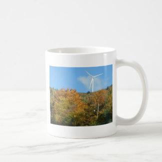 Caneca De Café Moinho de vento da queda na montanha Maine do