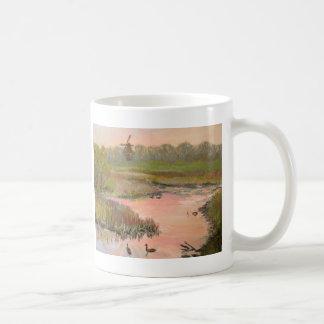 Caneca De Café Moinho de vento no beira-rio