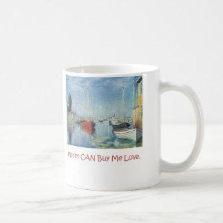Caneca De Café Monet PODE comprar-me amor