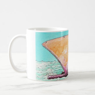 Caneca De Café Monstrinho marinho