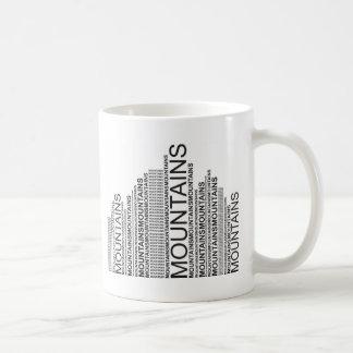Caneca De Café Montanhas