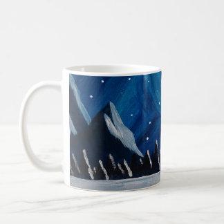 Caneca De Café Montanhas do inverno