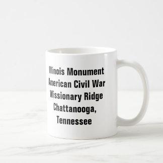 Caneca De Café Monumento de Illinois - Chattanooga, TN