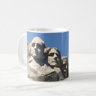 Caneca De Café Monumento nacional presidencial do Monte Rushmore